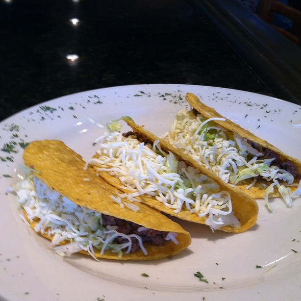 3 Beef Tacos @ Tacos & Tequillas Mexican Grill