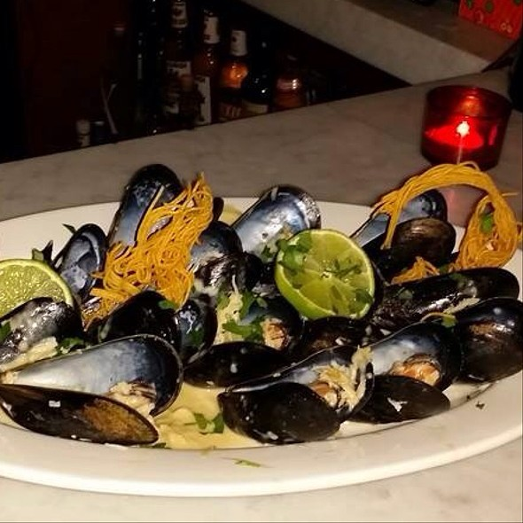 Coconut Lime Mussels - Monte's, Brooklyn, NY