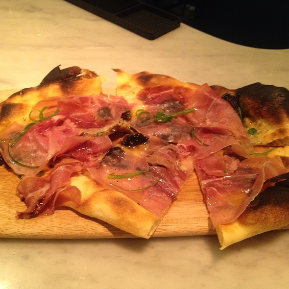 Fig And Prosciutto Flatbread - Todd English at The Plaza Food Hall, New York, NY