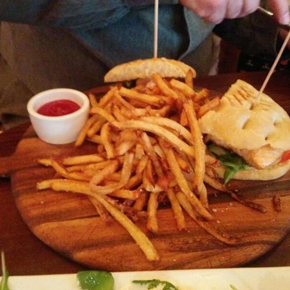 Salmon Sandwich @ Francesca's Forno