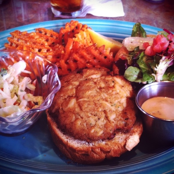 Crab Cake Sandwich - Lombard's Seafood Grille, Orlando, FL