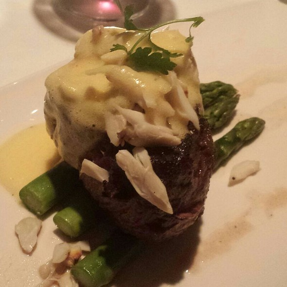 Filet Oscar - Dakota's Steakhouse, Dallas, TX