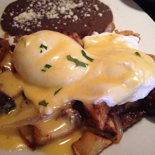 Barbacoa Hash With Poached Eggs  - Wild Salsa - Dallas, Dallas, TX