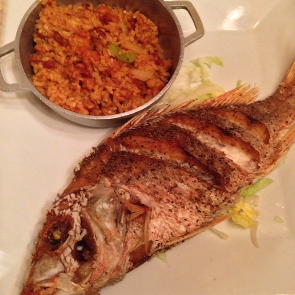 Fried Snapper @ Mi Casita