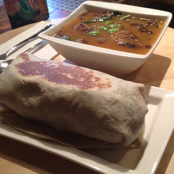 Flank Steak Wrap And Beef Miso Soup