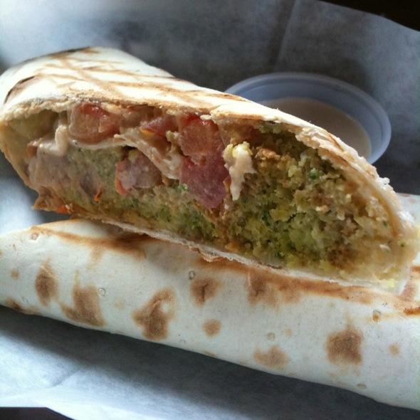 Falafel Lavash Wrap