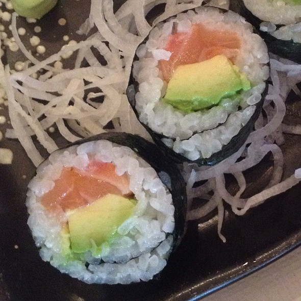 Tuna Avocado And Salmon Avocado Rolls @ XO