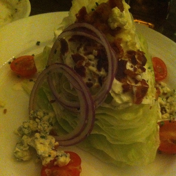 BLT wedge Salad - ENVY The Steakhouse at The Renaissance Las Vegas, Las Vegas, NV