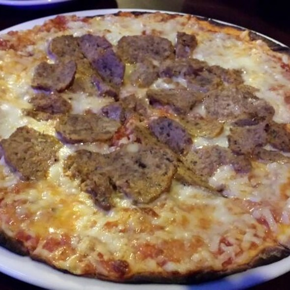 Meatball Pizza - Pepperoncini Sotto Restaurant & Bar Phoenixville, Phoenixville, PA