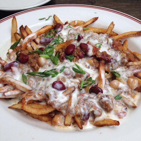 Goat Chili Cheese Fries @ Little Goat