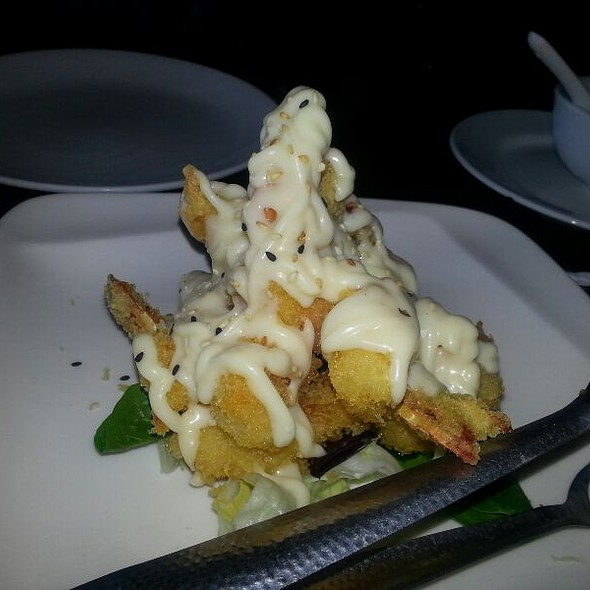 Shrimp Tempura With Lemon Creme @ Wild Ginger Restaurant