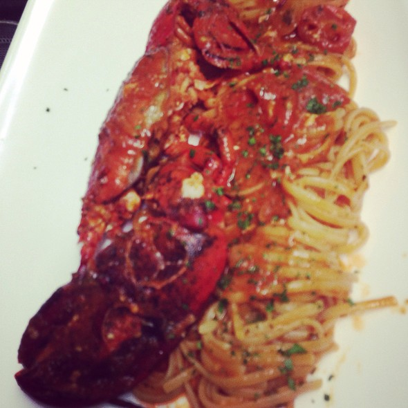 Linguine All'astice @ Ristorante Zerogradi