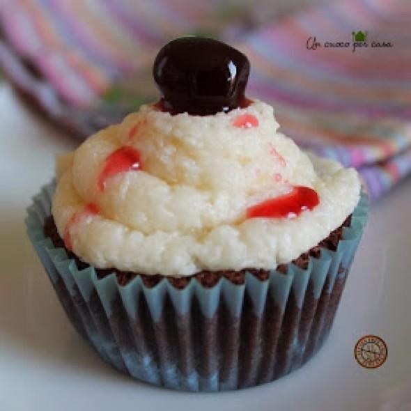 Coconut And Choccolate Cupcake @ Un cuoco per casa