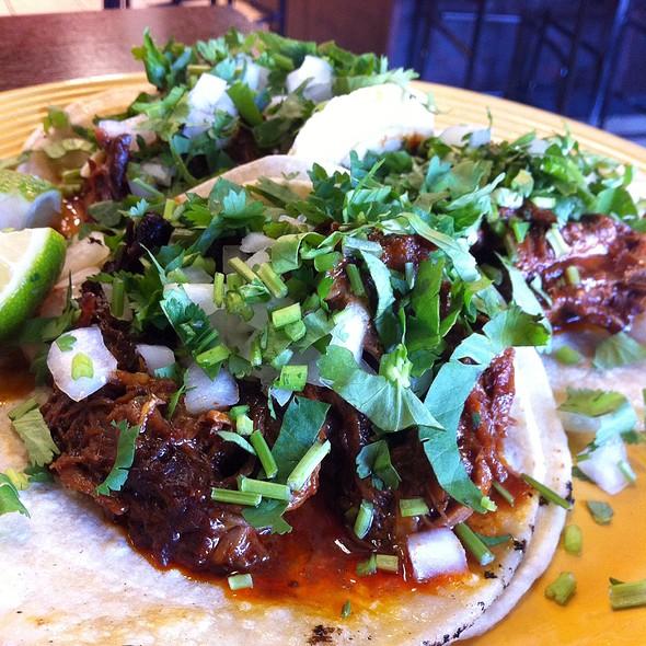 Barbacoa Tacos @ El Limon