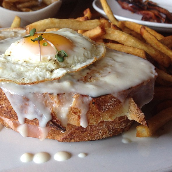 Croque Madame - The Black Pig, Cleveland, OH