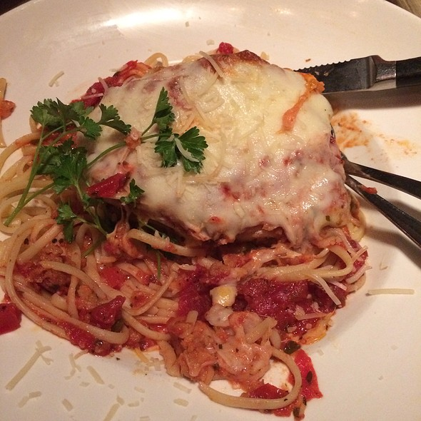 Chicken Parmesan - Blue River Bistro, Breckenridge, CO