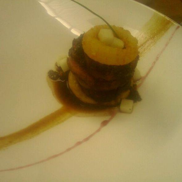 Beef Carpaccio @ Lula Bistro