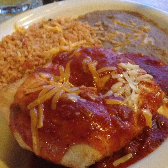 Chimichanga @ Christina's Fine Mexican Palace