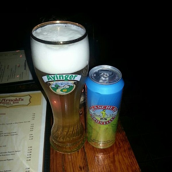 Blanche de Bruxelles Beer - St. Arnold's Mussel Bar - Dupont, Washington, DC