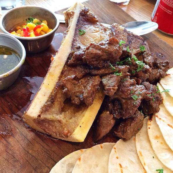 Bone Marrow  & Steak Tacos @ 'Cue Modern Barbecue