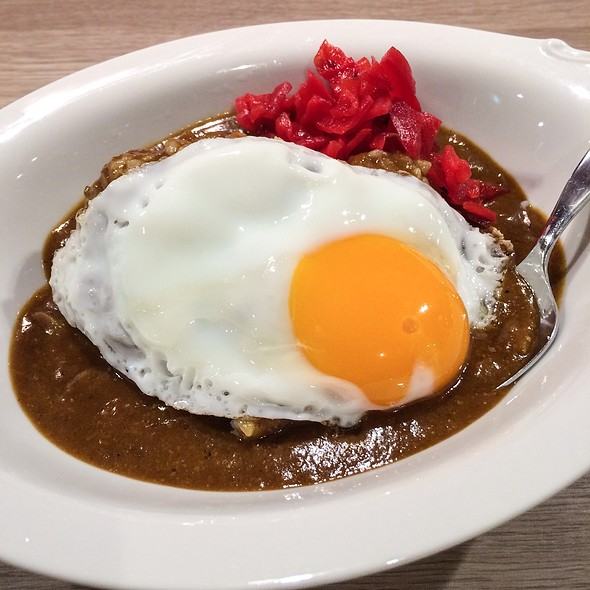 curry rice @ ニューキャッスル
