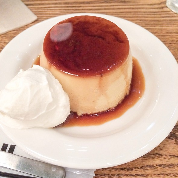 Custard Pudding @ Café & Meal MUJI 日比谷