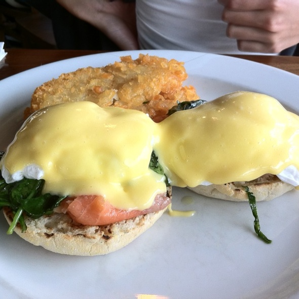 Eggs Royale @ new orleans cafe