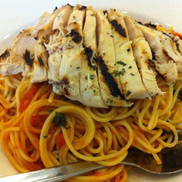 Chicken Tomato Basil Pasta @ California Pizza Kitchen