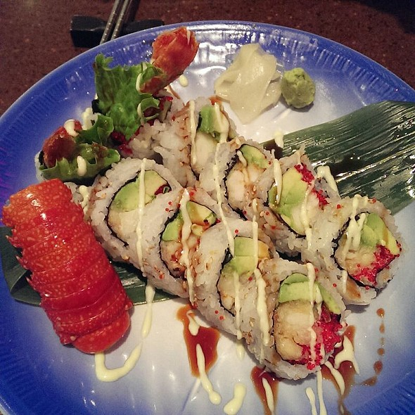 Lobster Tempura Sushi @ Gal's Sushi
