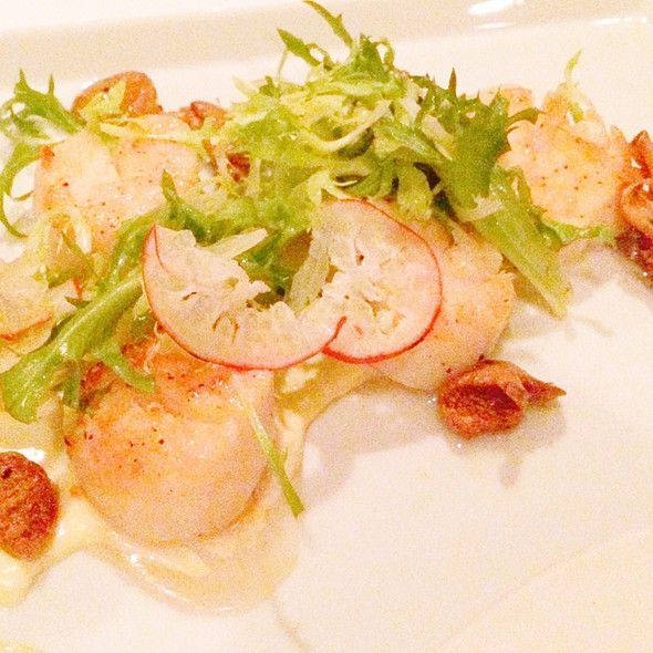 Seared Sea Scallops @ Cafe Juanita