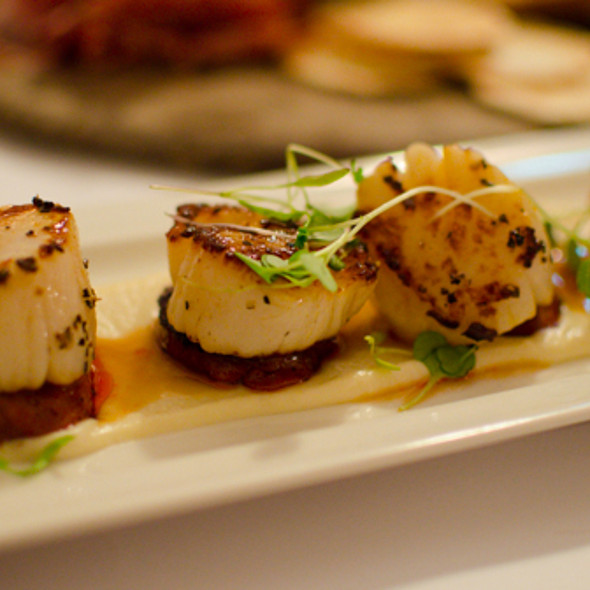 Scallops @ Rose & Crown