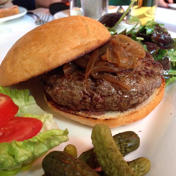 Bouf Burger @ Cafe Claude
