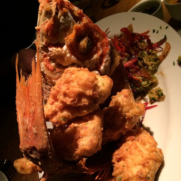 Fried Snapper - Shinsei Restaurant, Dallas, TX