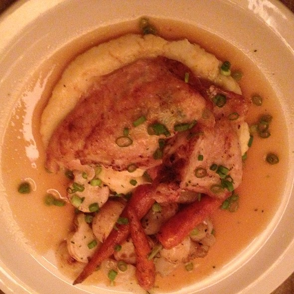 Pan Roasted Chicken - Nana's Restaurant, Durham, NC