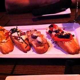 Bruschetta - Eno Vino Wine Bar and Bistro, Madison, WI