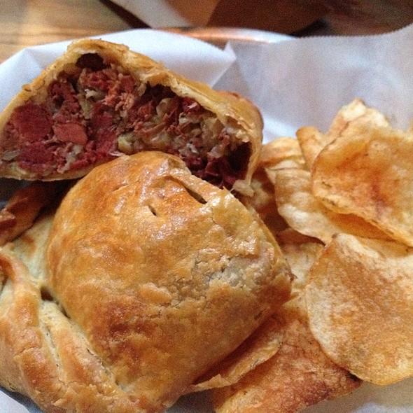 Corned Beef And Cabbage Hand Pie @ Perennial Artisan Ales