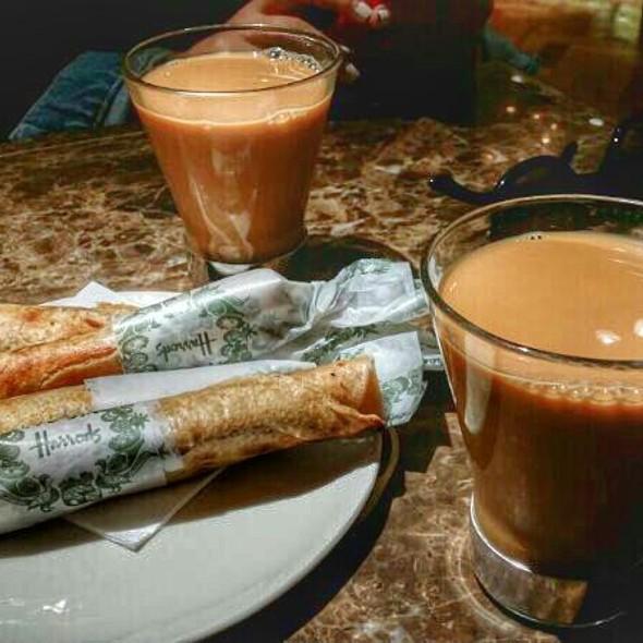 Karak ( Tea Milk)  & Chapatti Bread @ Harrods