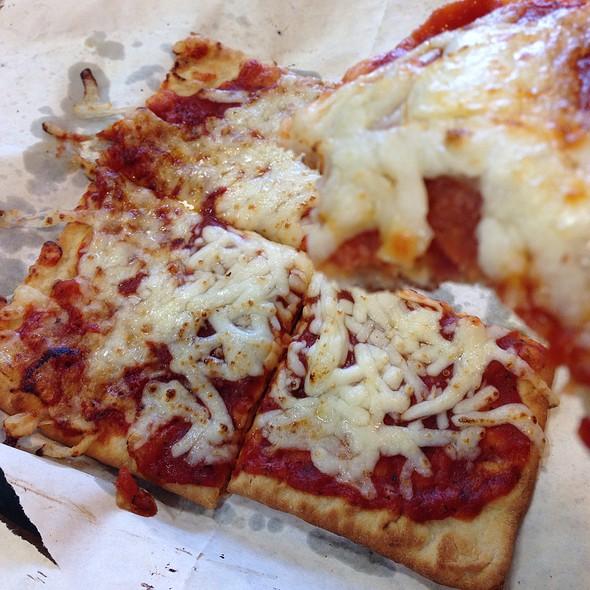 Cheese Flatizza @ Subway