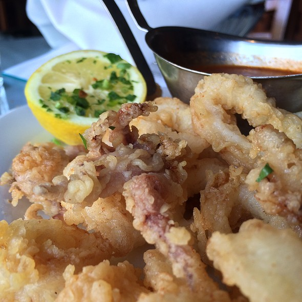 Fried Calamari @ La Vecchia