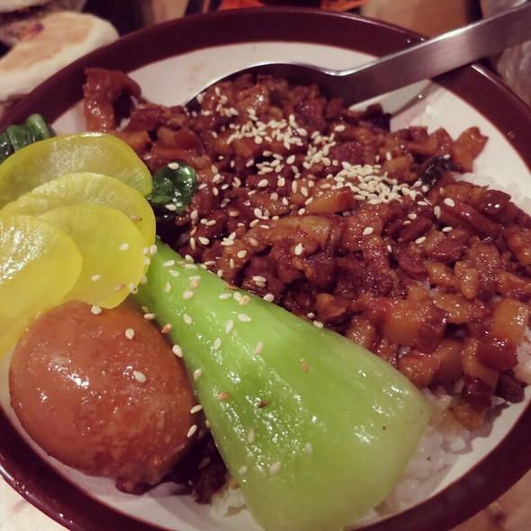 Pork Belly On Rice @ Noodle Face Co.