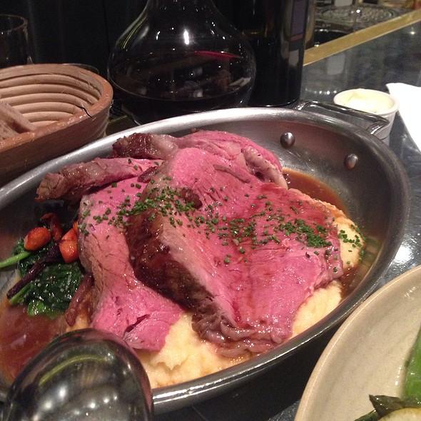 Roast Prime Rib of Beef @ Ad Hoc