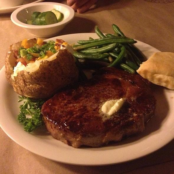 Rib Eye @ Ted's Montana Grill