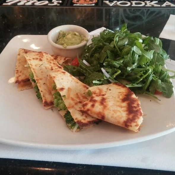 Vegan Quesadilla - Nick and Johnnie's, Palm Beach, FL