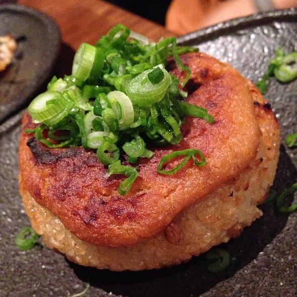 Rice Ball Stuffed With Pork @ Nojo