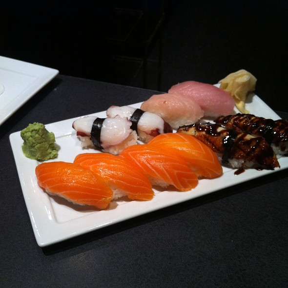 Assorted Nagiri @ Shoga Sushi at Forty-One South