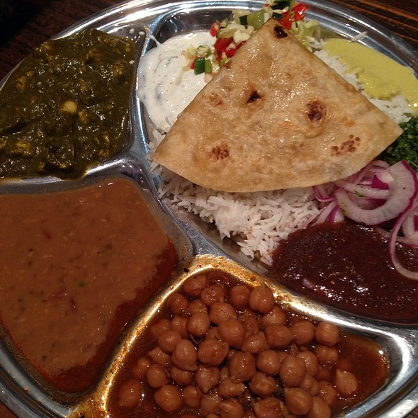 Thali @ Kasa Indian Restaurant