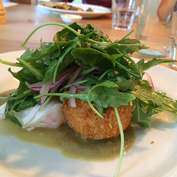 Croquettes With Poached Eggs @ Lemon, Middle And Orange