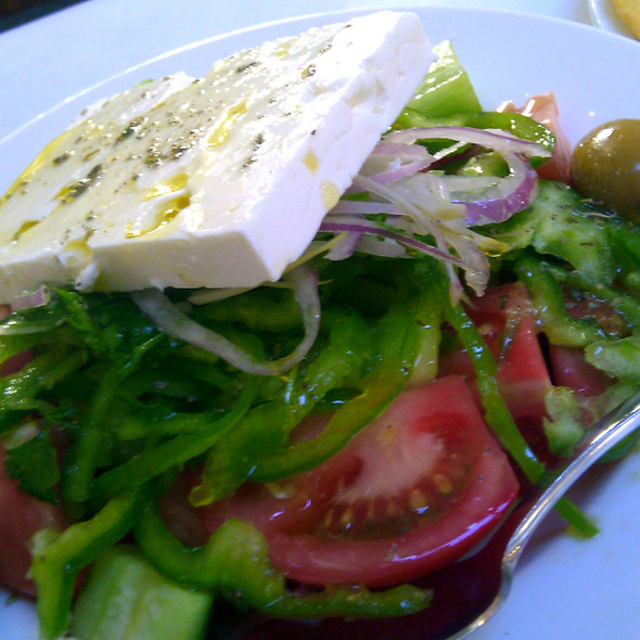 Greek Salad @ Thanasis