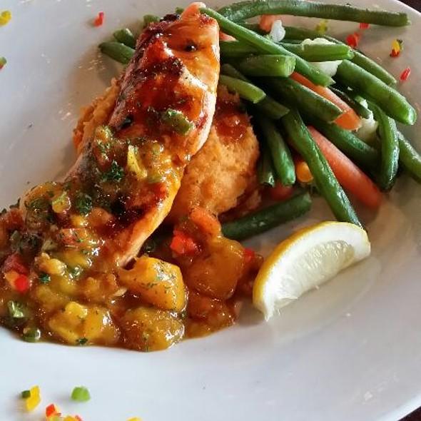 BBQ'd Salmon - Pusser's Caribbean Grille - Annapolis, Annapolis, MD