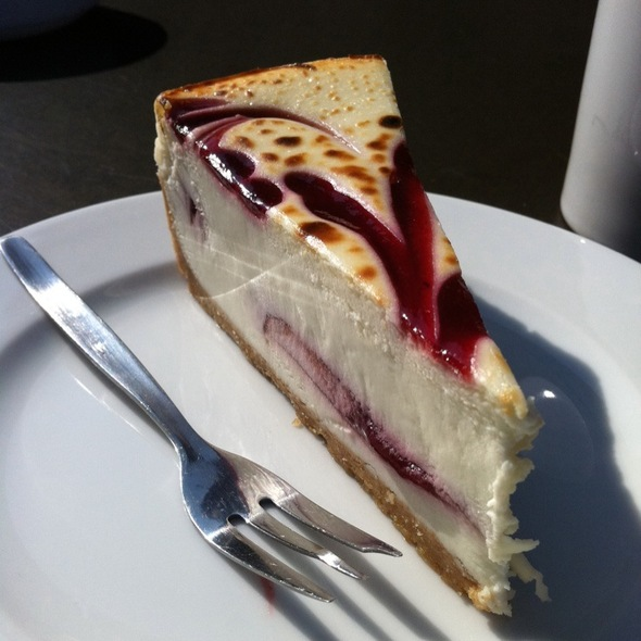 Raspberry Cheesecake @ starbucks eppendorf